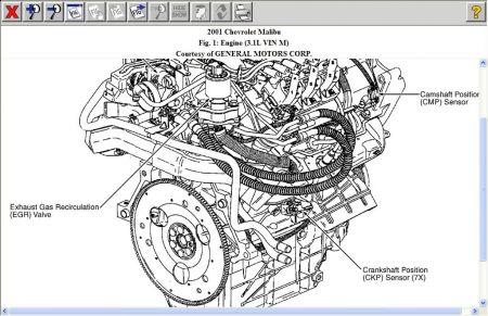 2001 Malibu Engine Diagram - Wiring Data schematic