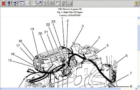 2000 Daewoo Wiring Wiring Diagram