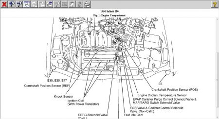 1996 lexus ls400 alternator wiring diagram schematic