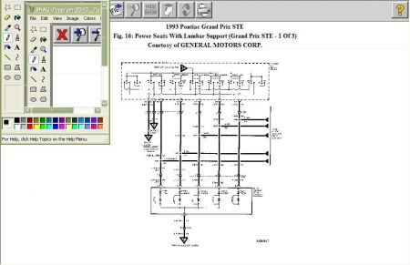 Wiring Diagram Hi, I Have a 1993 Pontiac Grand Prix STE It Has