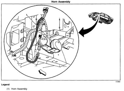 1997 Buick Lesabre Horn Location Wiring Schematic Diagram