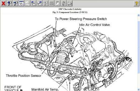 daewoo fuel pressure diagram