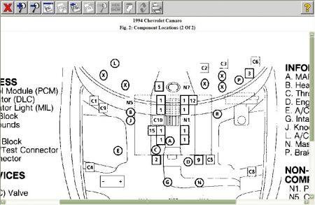 1994 Camaro Engine Diagram Wiring Diagram 2019