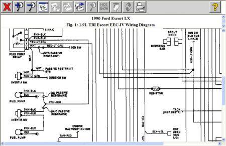 Diagram 1990 Ford Escort Wiring - Wwwcaseistore \u2022