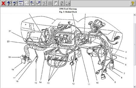 1999 Ford Mustang 4-Heater Fan Blower Motor Heater Problem 1999