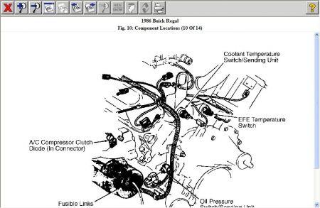 96 Buick Regal Engine Diagram Wiring Diagram