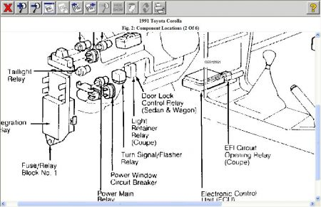 toyota ta turn signal wiring diagram