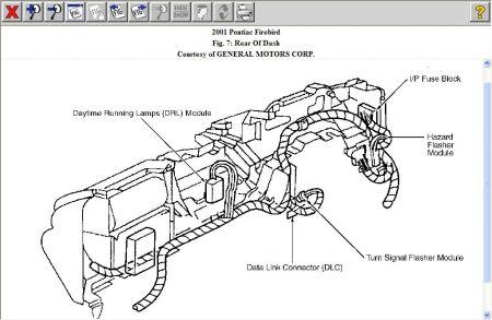 2001 Pontiac Firebird Turn Signal Flasher Electrical Problem 2001