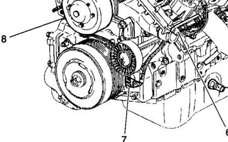 1998 Buick Lesabre 98 Buick LeSabre Crank Shaft Sensor Loca
