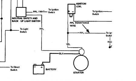 1968 Mustang Starter Relay Diagram Wiring Schematic Online Wiring