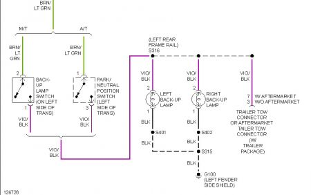 Backup Lights Wiring Diagram Wiring Diagram