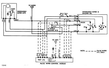Chevy Wiper Motor Wiring Wiring Diagram