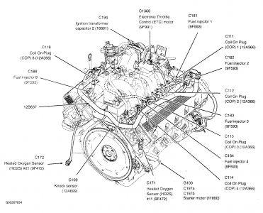 4 6l ford engine cooling diagram