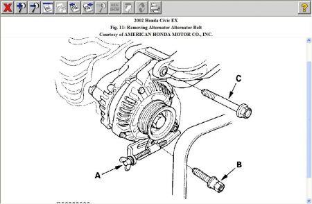 2002 Civic Alternator Replacement - Data SET \u2022