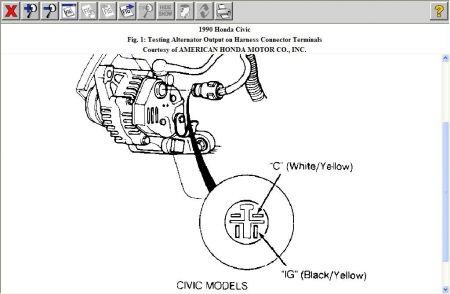 Honda Alternator Wiring Diagram - 8euoonaedurbanecologistinfo \u2022