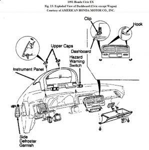 94 honda civic fuse diagram heater