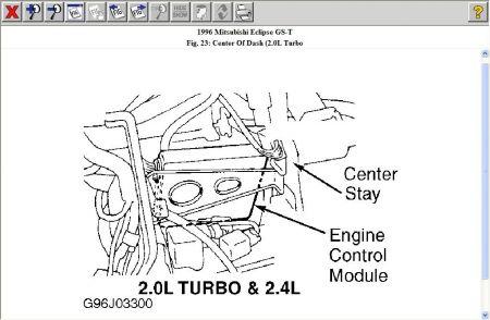 ecm wiring diagram mitsubishi montero sport