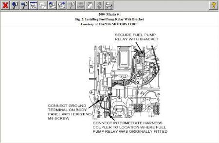 2005 Mazda 6 Fuel Filter Wiring Diagram