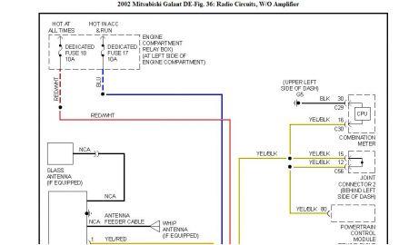 01 Mitsubishi Galant Wiring Diagram - Wiring Data Diagram