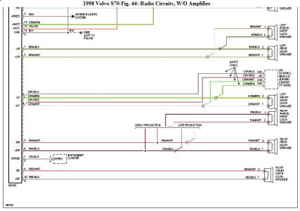 99 Volvo Radio Wiring Diagram Wiring Diagram