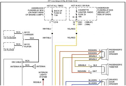 Wire Diagram 97 Acura Wiring Diagram