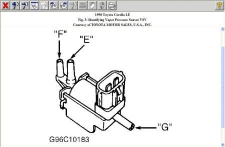1998 Toyota Corolla Engine Performance Problem 1998 Toyota