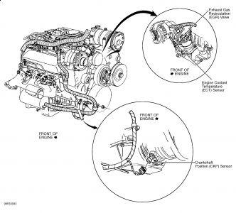 gmc safari engine diagram