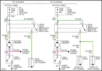 Ford Horn Wiring - Wiring Diagram Write