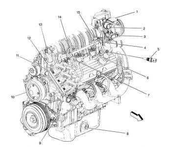 2000 pontiac bonneville Motor diagrams