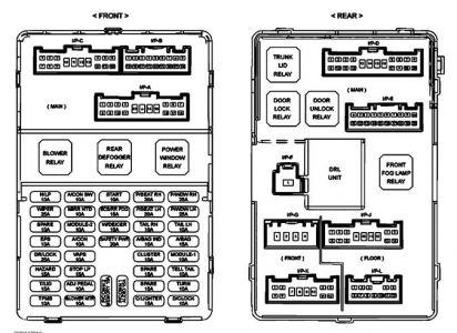 Fuse In Addition Chevy Equinox Fuse Box Diagram On Kia Spectra Fuse