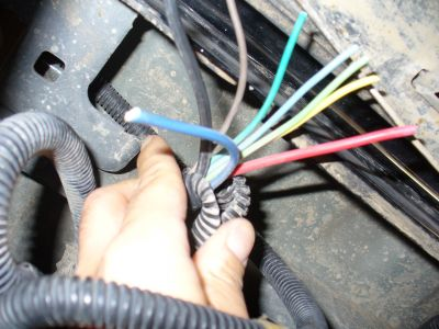 2006 Chevy Silverado Hitch Socket Wiring Electrical Problem 2006