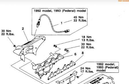 2000 Mitsubishi Galant Mitsubishi Exhaust Manifold Replacem How