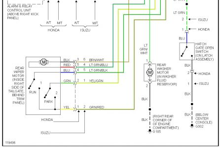 2001 Isuzu Trooper Wiring Schematic Wiring Diagram