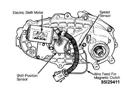 1992 ford transmission diagram