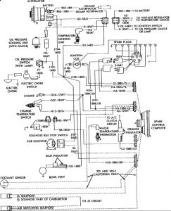 1983 dodge ram radio wiring diagram