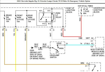 2005 Impala Wiring Diagram Index listing of wiring diagrams