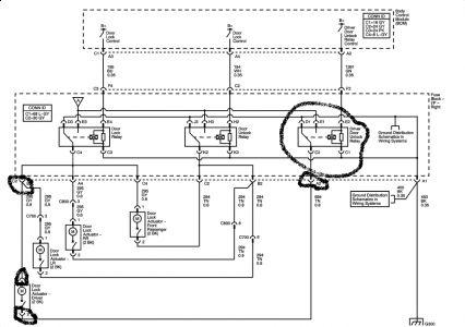 2004 Saturn Ion Power Door Lock Driver Side Power Door Lock Will