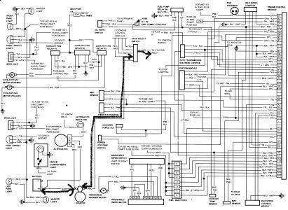 1991 cadillac deville wiring diagram