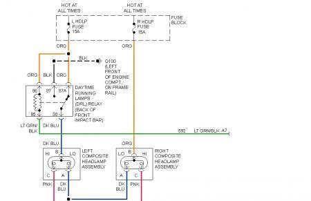 1996 Pontiac Sunfire Headlights Electrical Problem 1996 Pontiac