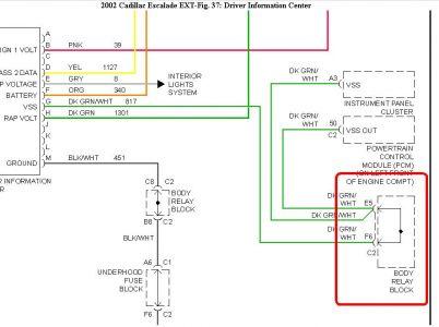 02 Escalade Wiring Diagram - Wiring Data Diagram