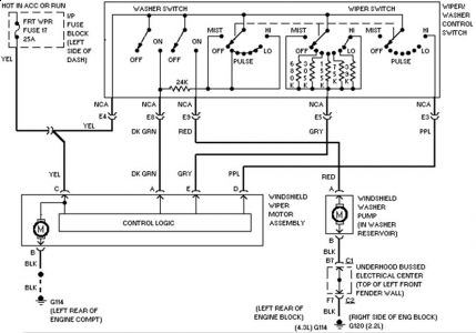 1983 S10 Wiring Schematic Wiring Diagram