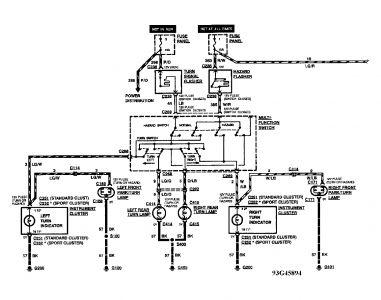1991 ford windstar fuse box diagram