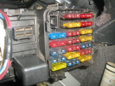 Fuse Box In Mitsubishi Mirage Wiring Diagram