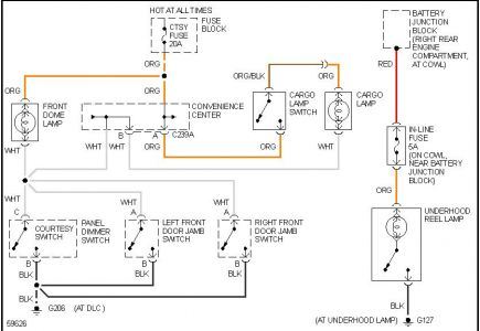 Chevy 1500 Dome Light Wiring Diagram - DATA Circuit Diagram \u2022