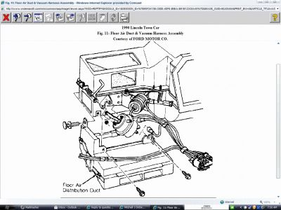 1990 lincoln town car stereo wiring diagram