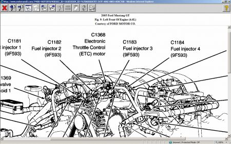 2005 Ford Mustang Parts Diagram Wiring Schematic Diagram