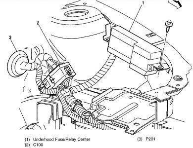 96 cavalier ignition cylinder wiring diagram