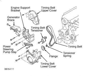 2000 mitsubishi mirage engine diagram