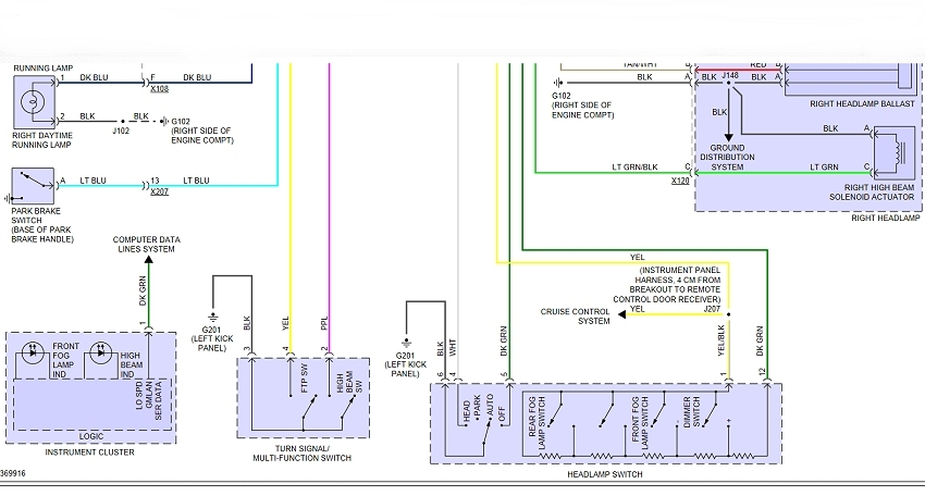 Vw Light Switch Wiring Diagram - Wiring Diagrams