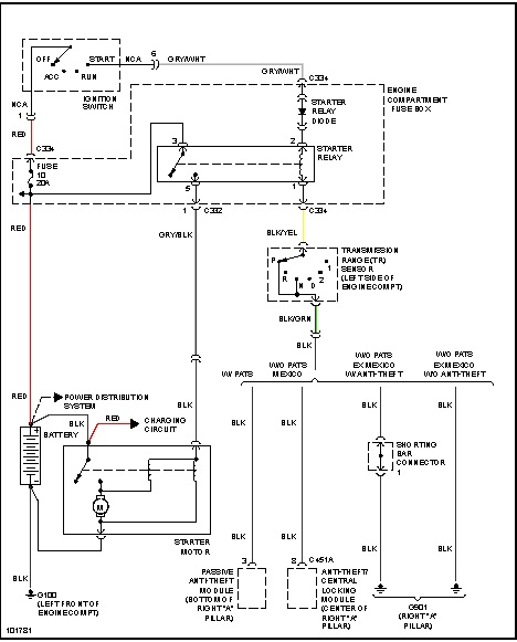 Starter Wiring Please Wiring Diagram of How Battery, Starter, and